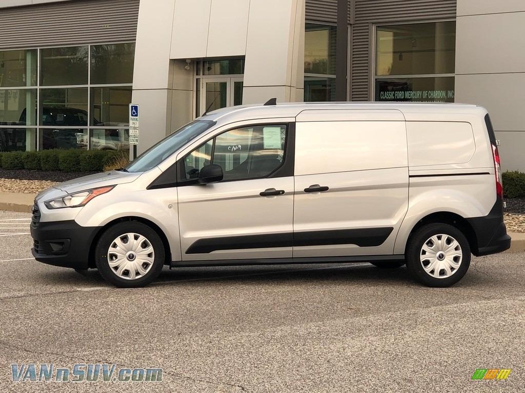2021 Transit Connect XL Van - Silver Metallic / Ebony photo #1