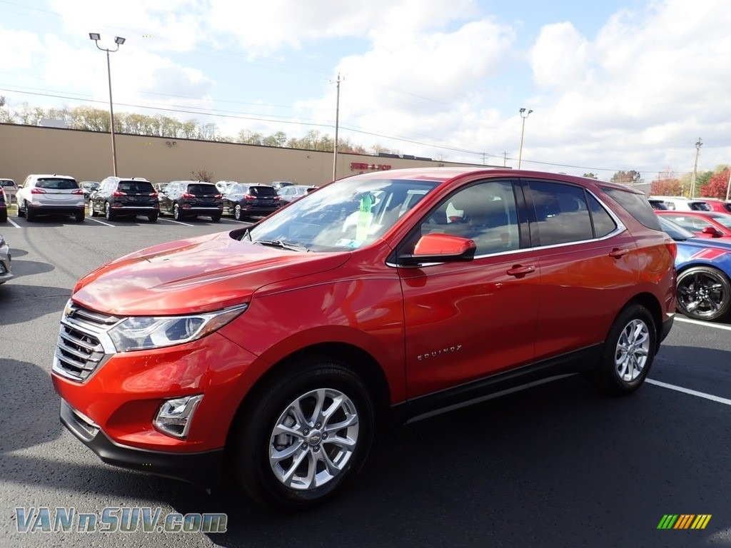 2020 Equinox LT AWD - Cayenne Orange Metallic / Jet Black photo #1