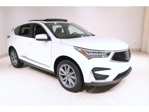 White Diamond Pearl 2019 Acura RDX Technology AWD