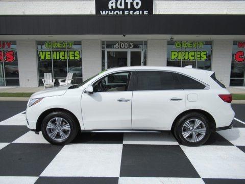 Platinum White Pearl 2020 Acura MDX FWD