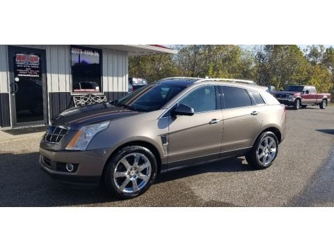 Gold Mist Metallic 2012 Cadillac SRX Performance