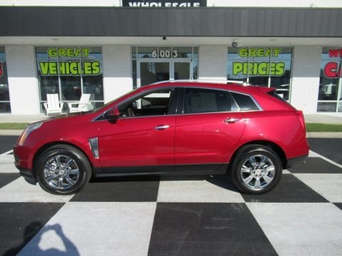 Crystal Red Tintcoat 2015 Cadillac SRX Luxury