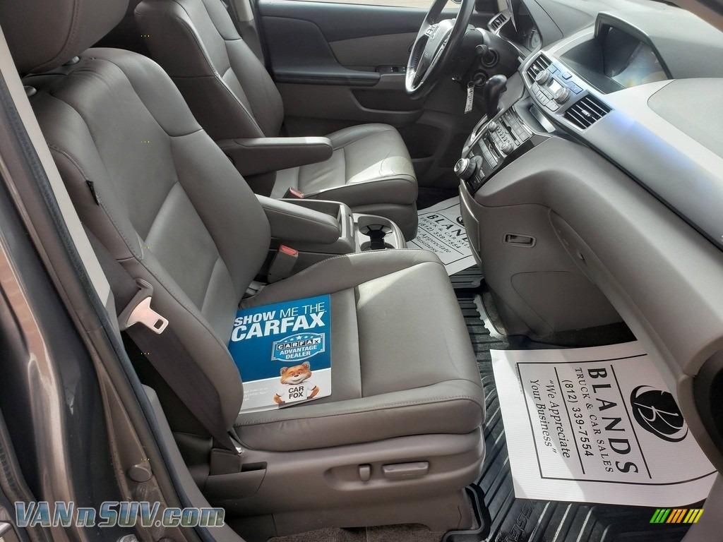 2013 Odyssey Touring Elite - Polished Metal Metallic / Gray photo #52
