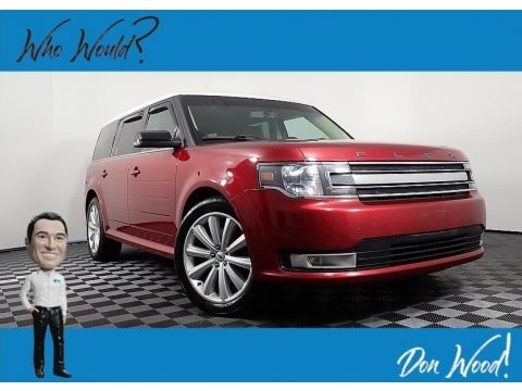 Ruby Red 2014 Ford Flex SEL