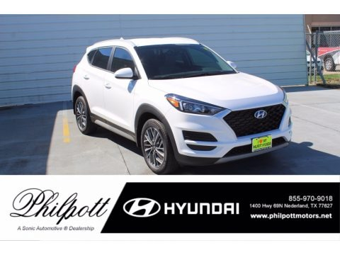 Winter White 2021 Hyundai Tucson SEL