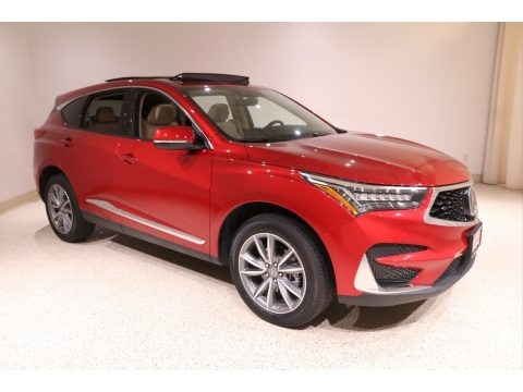 Performance Red Pearl 2020 Acura RDX Technology AWD