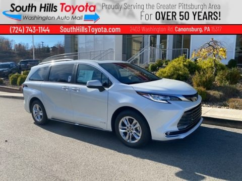 Blizzard White Pearl 2021 Toyota Sienna Limited AWD
