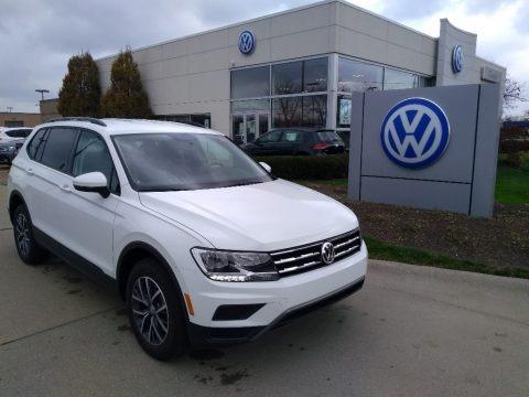 Pure White 2021 Volkswagen Tiguan S