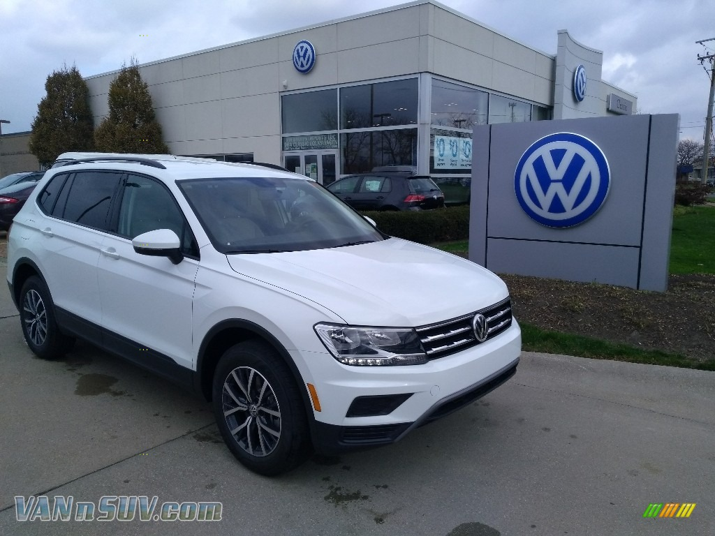 2021 Volkswagen Tiguan S 4Motion in Pure White for sale ...