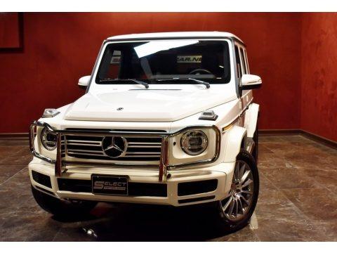 Polar White 2019 Mercedes-Benz G 550