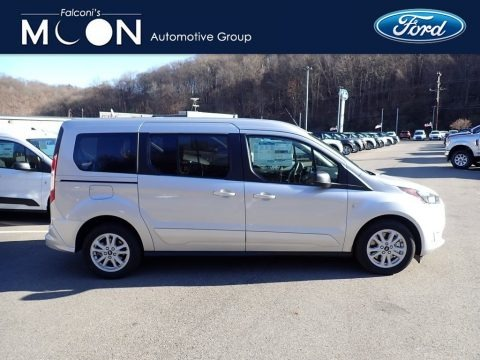Silver Metallic 2021 Ford Transit Connect XLT Passenger Wagon