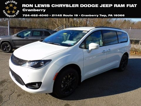 Bright White 2020 Chrysler Pacifica Launch Edition AWD