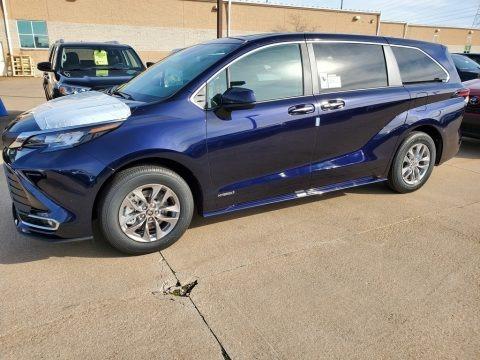 Blueprint 2021 Toyota Sienna XLE