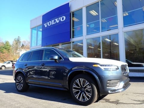 Denim Blue Metallic 2021 Volvo XC90 T6 AWD Momentum