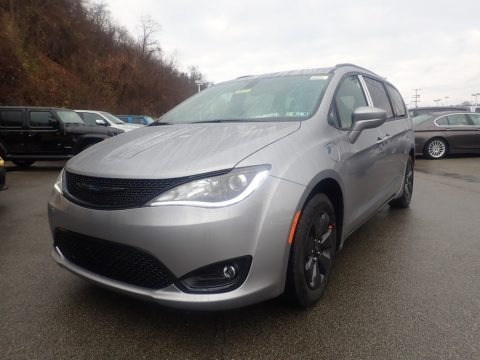 Billet Silver Metallic 2020 Chrysler Pacifica Hybrid Touring L