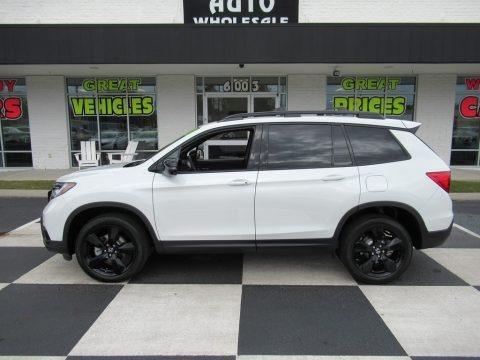 Platinum White Pearl 2020 Honda Passport Elite AWD