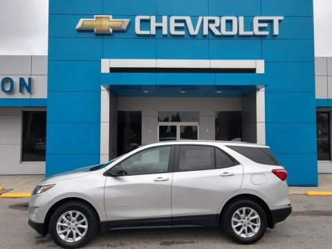Silver Ice Metallic 2021 Chevrolet Equinox LS