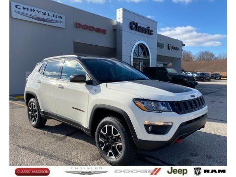 White 2021 Jeep Compass Trailhawk 4x4