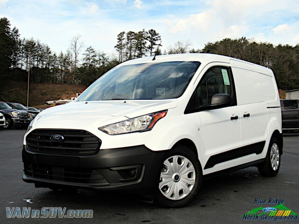 Frozen White / Ebony Ford Transit Connect XL Van