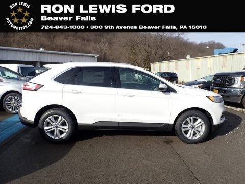 Oxford White 2020 Ford Edge SEL AWD