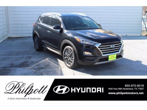 Black Noir Pearl 2021 Hyundai Tucson Limited