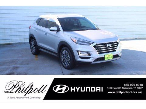 Stellar Silver 2021 Hyundai Tucson Limited