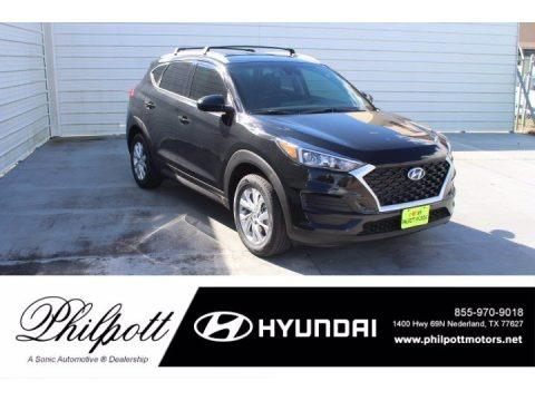 Black Noir Pearl 2021 Hyundai Tucson Value