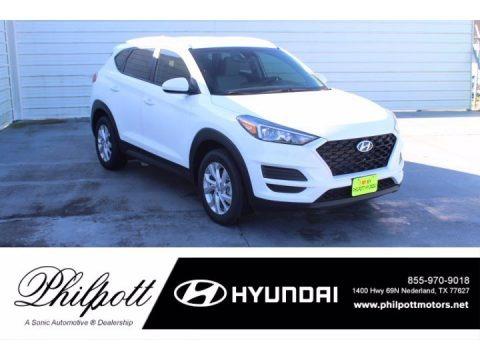 White Cream 2021 Hyundai Tucson Value