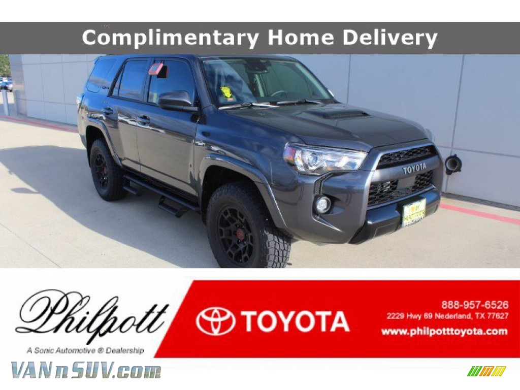 2021 4Runner TRD Pro 4x4 - Magnetic Gray Metallic / Black photo #1