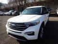 Ford Explorer XLT 4WD Star White Metallic Tri-Coat photo #5