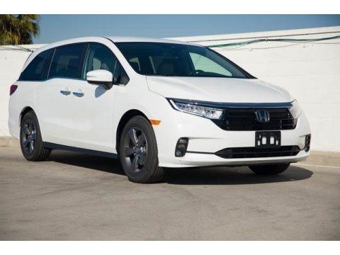 Platinum White Pearl 2021 Honda Odyssey EX