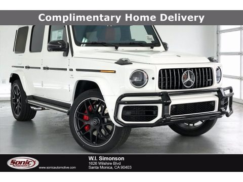 Polar White 2021 Mercedes-Benz G 63 AMG