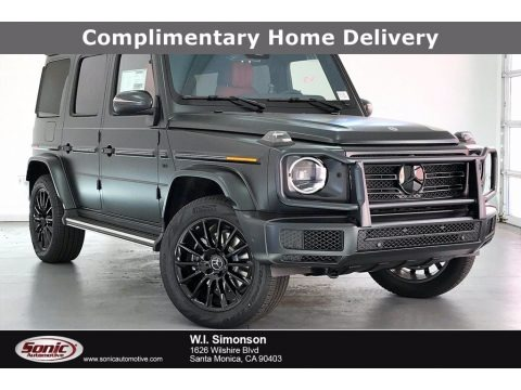 designo Night Black Magno (Matte) 2021 Mercedes-Benz G 550
