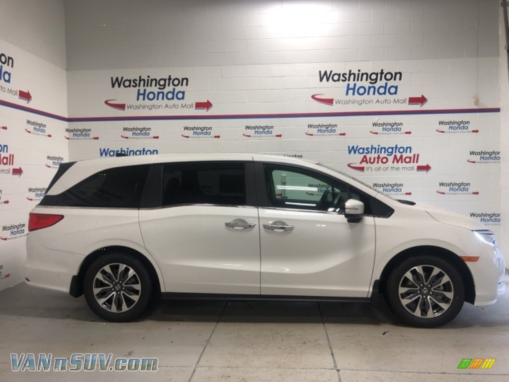 2021 Odyssey EX-L - Platinum White Pearl / Beige photo #1