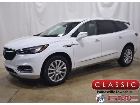 Summit White 2021 Buick Enclave Essence AWD