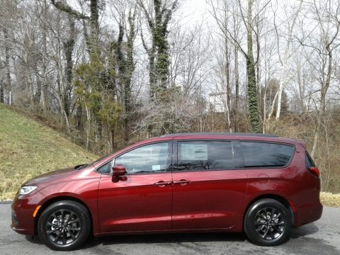 Velvet Red Pearl 2021 Chrysler Pacifica Touring