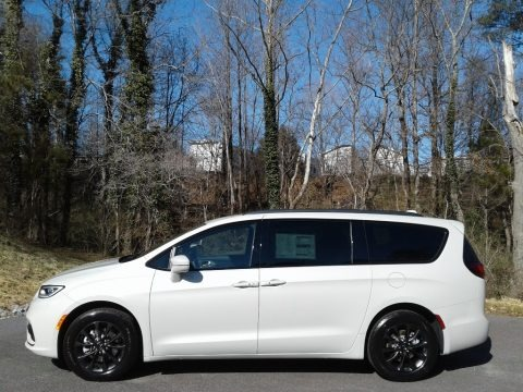 Luxury White Pearl 2021 Chrysler Pacifica Touring L