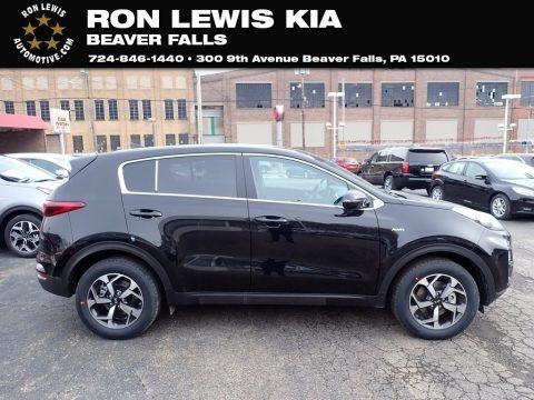 Black Cherry 2021 Kia Sportage LX AWD