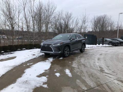 Nebula Gray Pearl 2021 Lexus RX 350 AWD