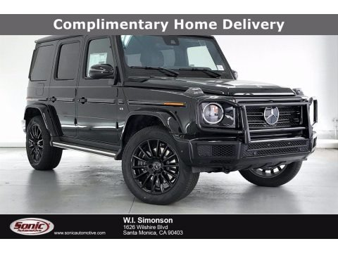Obsidian Black Metallic 2021 Mercedes-Benz G 550