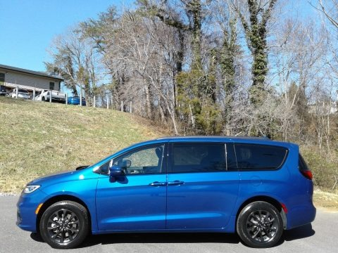 Ocean Blue Metallic 2021 Chrysler Pacifica Touring AWD