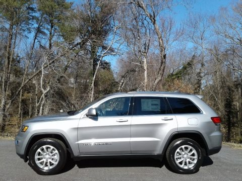 Billet Silver Metallic 2021 Jeep Grand Cherokee Laredo 4x4