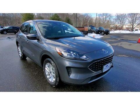 Carbonized Gray Metallic 2021 Ford Escape SE 4WD