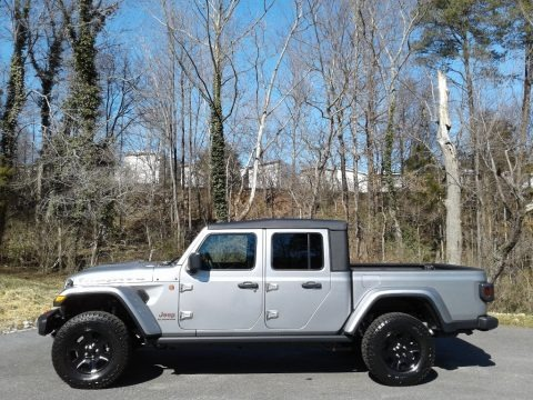 Billet Silver Metallic 2021 Jeep Gladiator Mojave 4x4