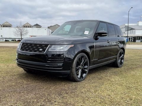 Santorini Black Metallic 2021 Land Rover Range Rover SV Autobiography Dynamic Black
