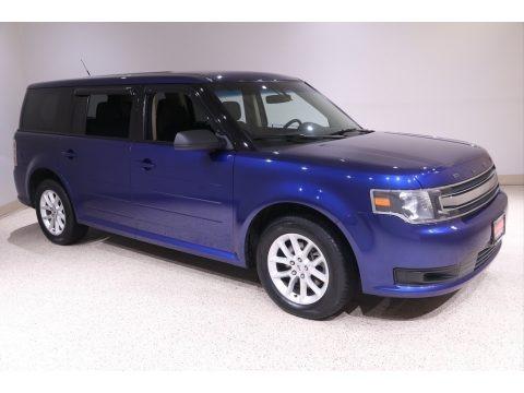 Deep Impact Blue 2014 Ford Flex SE