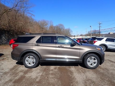 Stone Gray Metallic 2021 Ford Explorer XLT 4WD