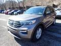 Ford Explorer XLT 4WD Stone Gray Metallic photo #6