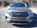Ford Explorer XLT 4WD Stone Gray Metallic photo #7