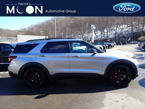 Iconic Silver Metallic 2021 Ford Explorer ST 4WD
